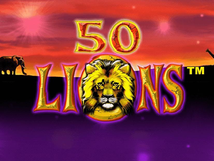 machine sous 50 lions