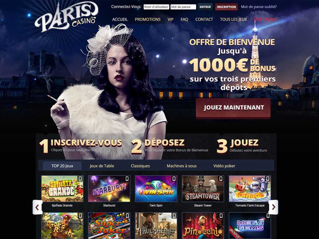 avis casino paris vip