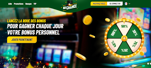 roue des bonus Machance casino