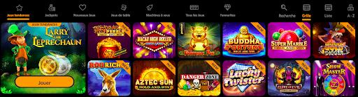 Machines à sous Spin Million Casino
