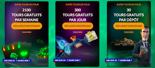promotions Spin Million Casino