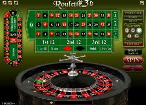 roulette 3d mobile